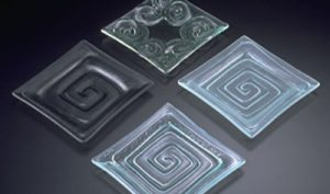 four types of glass