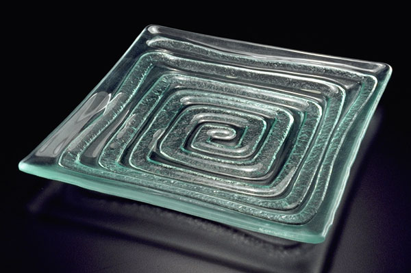 "Square Platter ""Labyrinth"""