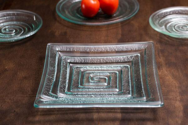"Square Platter ""Labyrinth"""