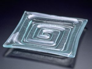 "Square Plate ""Labyrinth"""