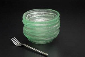 Recycled-Glass-Bowls-dessert-set-clear