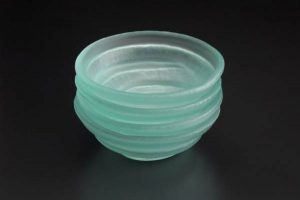 Recycled-Glass-Bowls-dessert-set-frosted