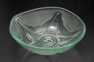 recycled-glass-bowl-Starburst-clear