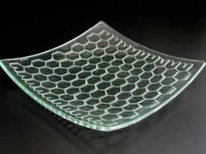 "Platter ""Honeycomb"", rectangular"