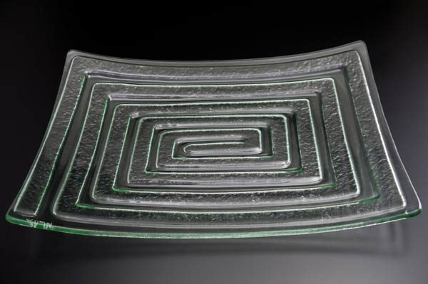 recycled-glass-serving-platter-Labyrinth-clear-rectangle