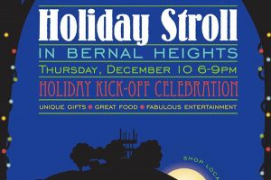 Holiday Stroll Bernal Heights 2015